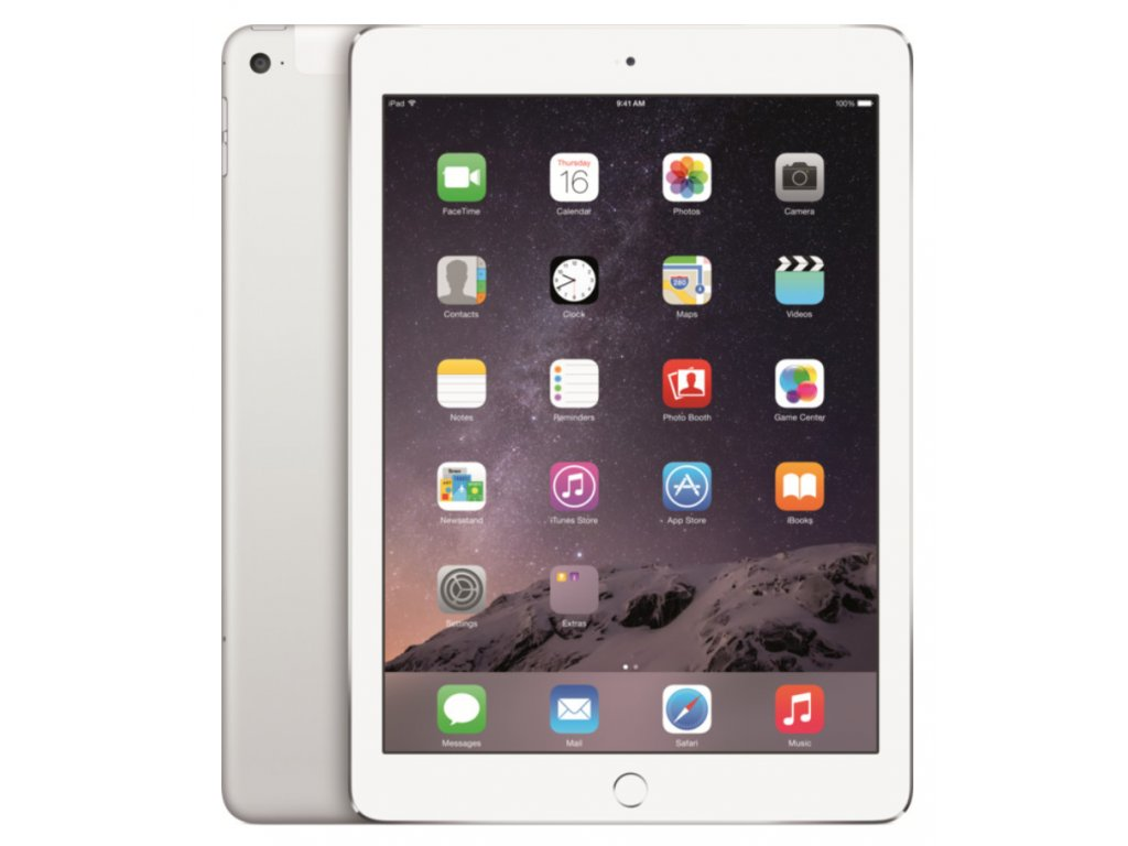 APPLE iPad Air 2 128GB Wi-Fi+Cellular Silver
