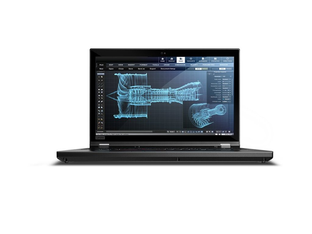 Lenovo ThinkPad P53 Core i7 9850H / 16GB RAM / 512GB SSD / Nvidia QUADRO T2000 - ROZBALENÝ 4