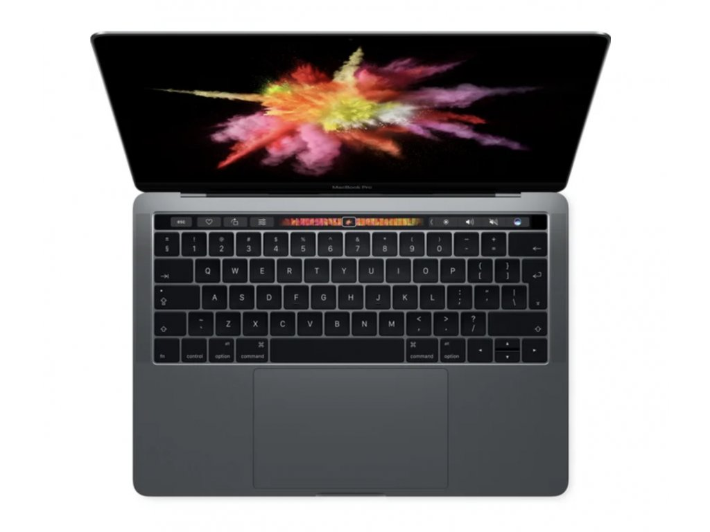 """Apple MacBook Pro 13"""" Touch Bar / i7 3,3GHz / 16GB / 512GB / Space Gray 2016"""