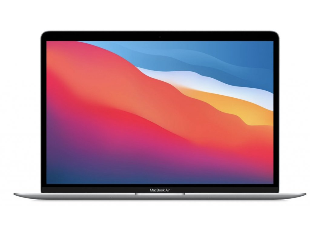 Apple MacBook Air 13, M1, 8GB, 256GB, 7-core GPU, stříbrná (M1, 2020)