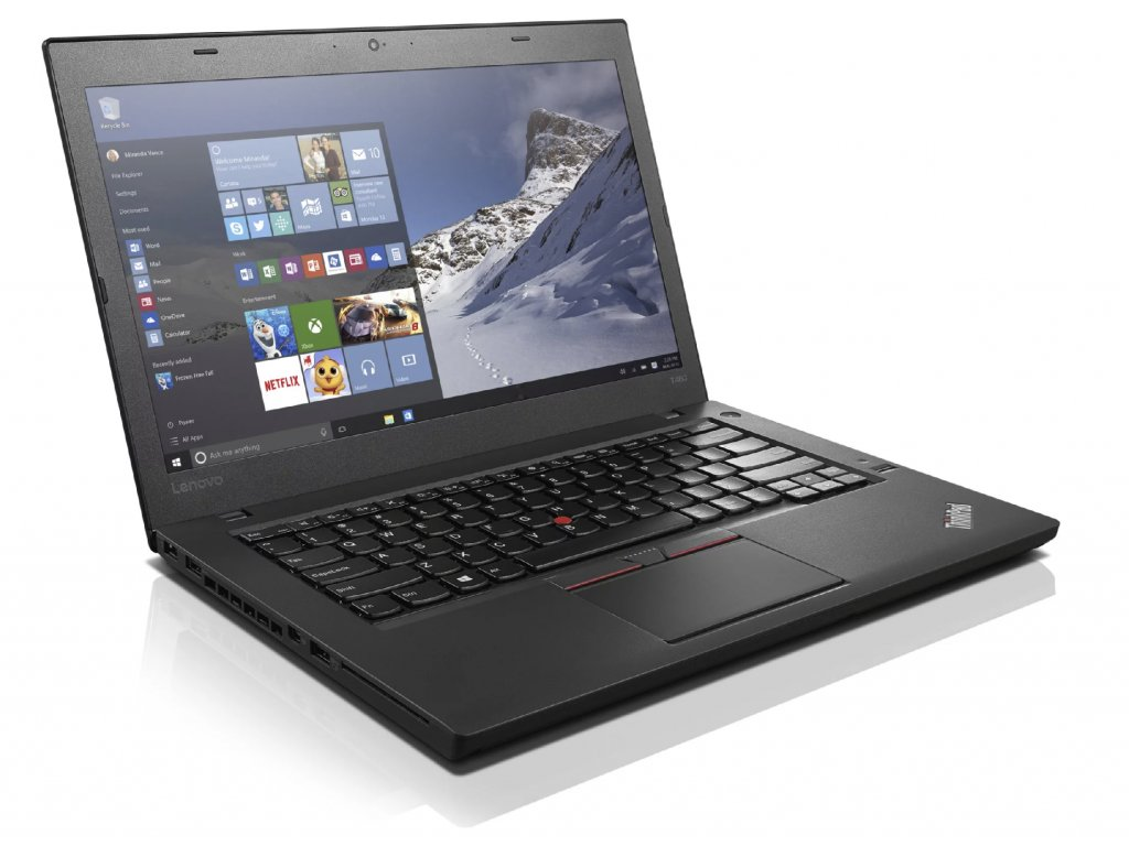 Lenovo ThinkPad T460 Core i7 / 4GB RAM / 256 GB SSD Black