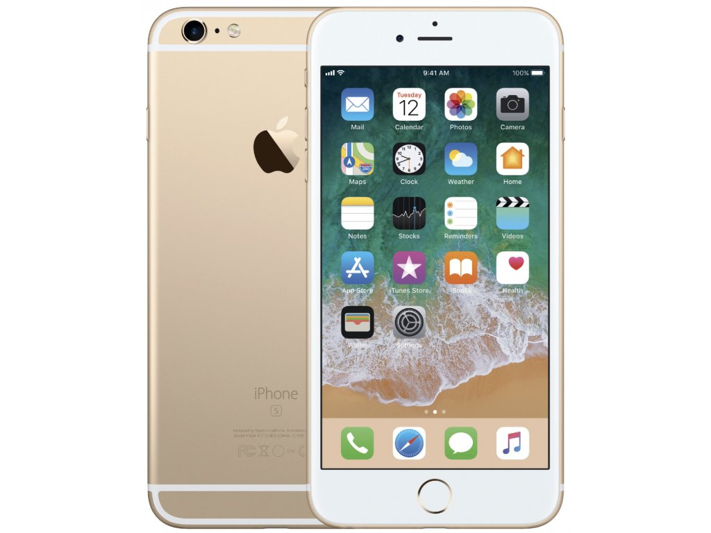 "Apple iPhone 6S Plus 32GB Gold ""B Grade"""