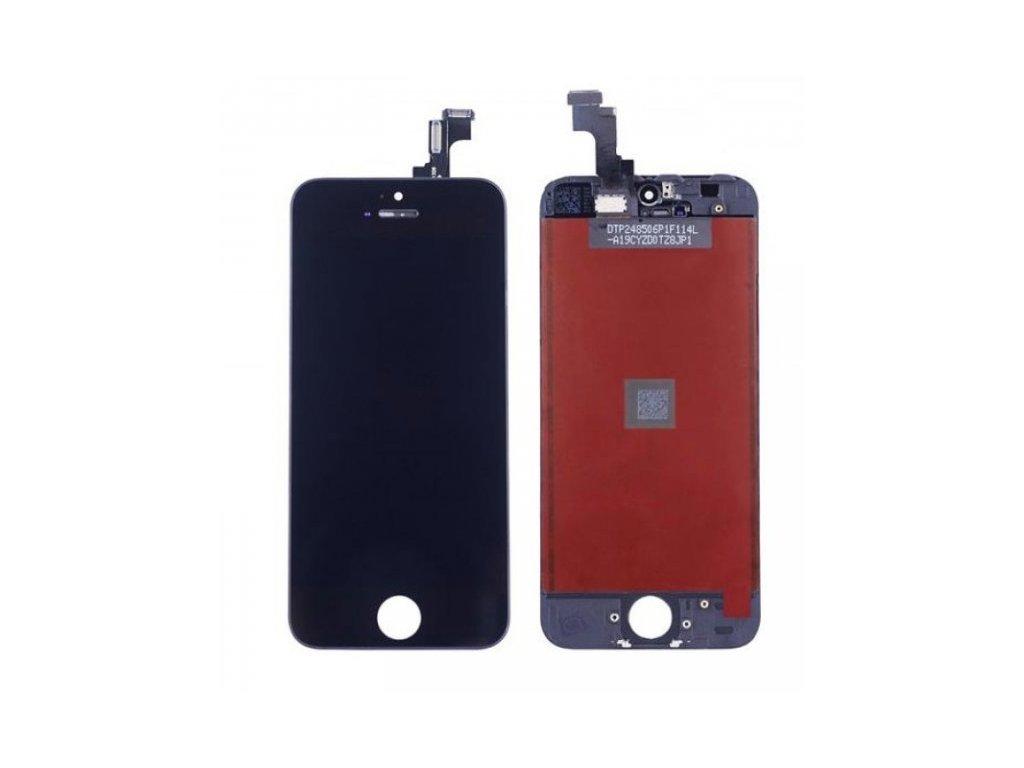 APPLE IPHONE 5S - LCD DISPLEJ A DOTYKOVÁ PLOCHA (ČERNÁ) - ORIGINÁL