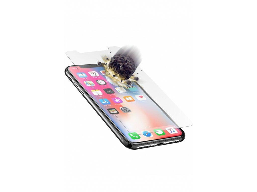 Prémiové ochranné tvrzené sklo Cellularline TETRA FORCE GLASS pro Apple iPhone X