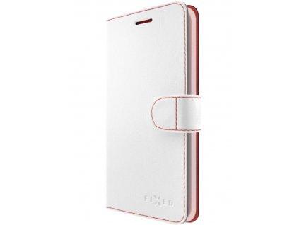 Pouzdro na mobil flipové FIXED FIT na Apple iPhone XR bílé