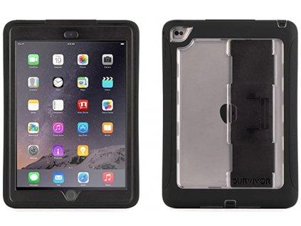 Kryt pro iPad Air 2 zadní+přední černý