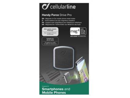 CellularLine magnetický držák do ventilace Mag4 Handy Force PRO, černá
