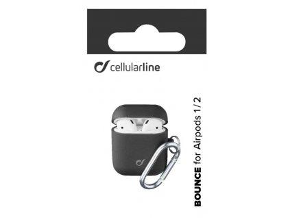 Cellularline Bounce ochranný kryt pro Apple AirPods, černá
