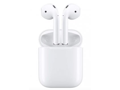 Apple AirPods bezdrátová sluchátka bílá (2019)