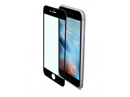 CELLY Glass 2,5D ochranné tvrzené sklo antiblueray Apple iPhone 6/6S/7/8 černé
