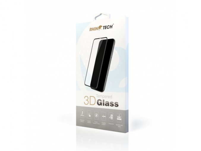 RhinoTech 2 Tempered 3D Glass for Apple iPhone X / XS / 11 Pro Black