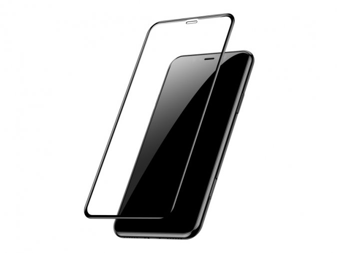Baseus Tempered Glass Film for Apple iPhone 11 Pro (2pcs, Black)