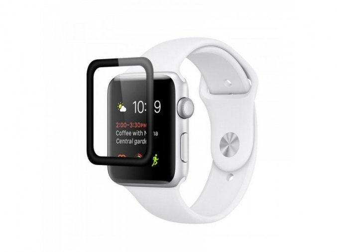 COTEetCI 4D Edge Glue Glass 0.1mm for Apple Watch 42mm