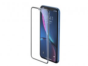 Baseus Full-Screen Curved Tempered Glass for iPhone XR Black