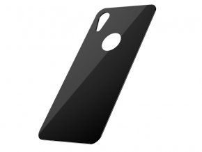Baseus Full Coverage Curved Tempered Glass Rear Protector for iPhone XR Black