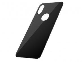 Baseus Full Coverage Curved Rear Tempered Glass for iPhone XS Black