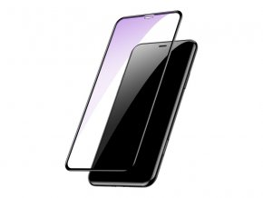 Baseus 0.23mm Curved-Screen Tempered Glass and Anti-Blue Light for iPhone XS Max Black