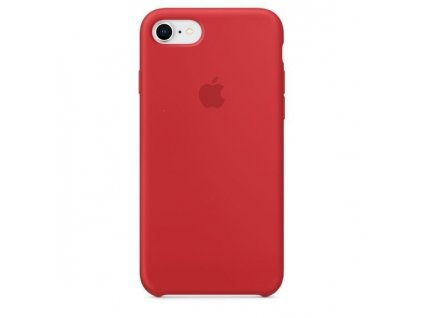 Apple silikonový kryt pro Apple iPhone 7/8/SE (2020), Červený (Red)