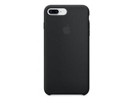 Apple silikonový kryt pro Apple iPhone 7 Plus/8 Plus, Černý (Black)