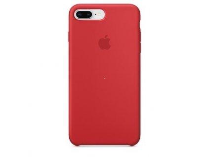 Apple silikonový kryt pro Apple iPhone 7 Plus/8 Plus, Červený (Red)