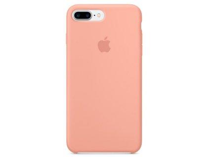 Apple silikonový kryt pro Apple iPhone 7 Plus/8 Plus, Flamingo