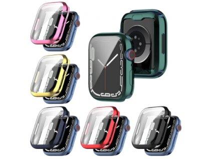 Silikonové pouzdro s ochranou displeje pro Apple Watch series SE/6/5/4 (40 mm)