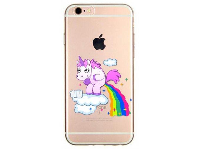 Unicorn makes rainbow silikonový kryt pro Apple iPhone 5/5S/SE