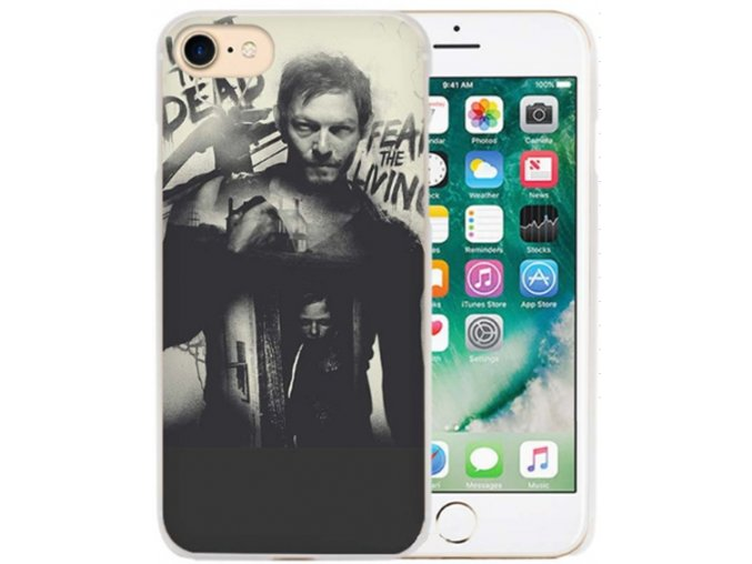 Kryt The Walking Dead Daryl pro Apple iPhone 7/8/SE (2020)