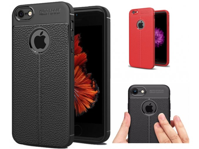 Focus Rubber leather kryt pro Apple iPhone 7 Plus/8 Plus