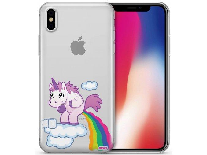 iphone X unicorn poop 2000x