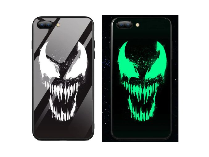 Venom luminous kryt se svítícím logem pro Apple iPhone  7 Plus/8 Plus