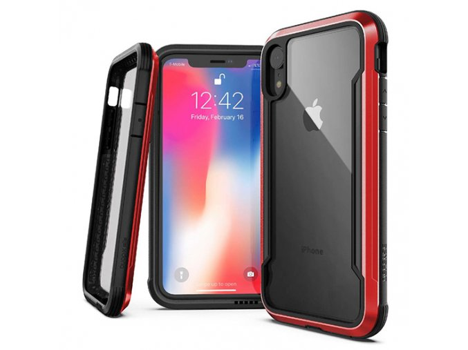 xdoria iphxs max shield red d