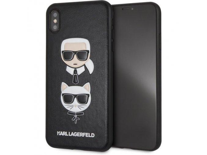Karl Lagerfeld originální ochranný kryt Karl & choupette pro Apple iPhone XS Max