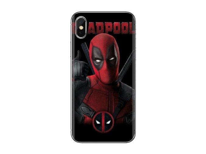 Kryt Deadpool pro Apple iPhone XR