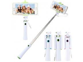 Mini colour selfie tyč se spouští na rukojeti 70 cm
