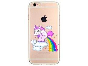 Unicorn makes rainbow silikonový kryt pro Apple iPhone 6/6S