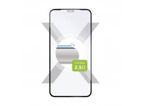 Ochranné tvrzené sklo FIXED Full-Cover pro Apple iPhone XR/11, lepení přes celý displej, černé