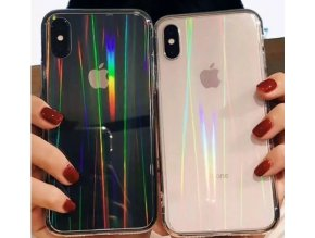 Shining rainbow proměnlivý kryt pro Apple iPhone 7/8/SE (2020)