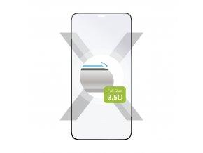 Ochranné tvrzené sklo FIXED Full-Cover pro Apple iPhone 12/12 Pro, lepení přes celý displej, černé