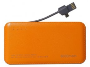powerbank 8000 mah micro usb lightning kabel orange handyshop linz kaufen (1)