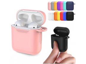 Ochranné pouzdro na Apple Airpods 1,2 silikonové hladké