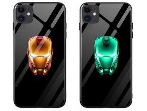 Iron man luminous kryt se svítívím logem pro Apple iPhone 11 Pro