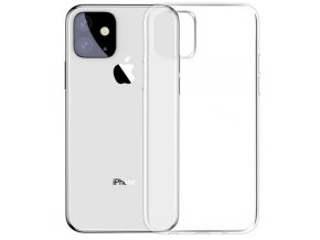 baseus transparentni kryt z mekkeho plastu pro iphone 11 ciry