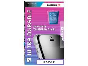 Tvrzené sklo Swissten ultra durable pro Apple iPhone 11