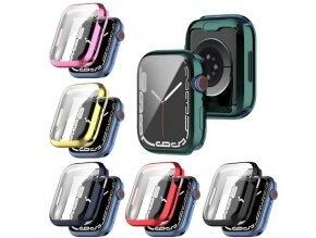 Silikonové pouzdro s ochranou displeje pro Apple Watch series SE/6/5/4 (44 mm)