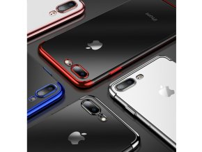 Electro Plating silikonový kryt pro Apple iPhone 7/8/SE (2020)