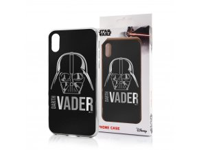 back case luxury chrome darth vader 010