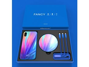 Nillkin fancy set pro Apple iPhone XS Max modrá