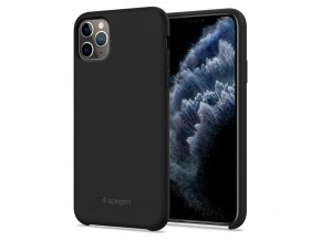 SPIGEN SILICONE FIT IPHONE 11 PRO BLACK