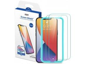 Tvrzené sklo ESR Screen shield 2-pack pro iPhone 12/12 Pro